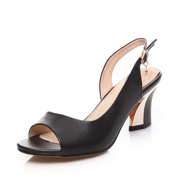 Vrai cuir Talon bottier Sandales Escarpins chaussures