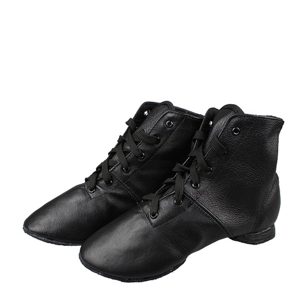 Unisex Leatherette Jazz Dance Shoes