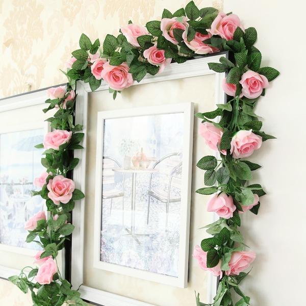Flor de vid Atractivo Flores de seda Flores artificiales (Se venden en un montón)