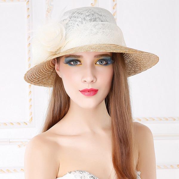 Señoras' Especial/Elegante/Simple/Llamativo/Fantasía Batista con Flor Sombreros Playa / Sol