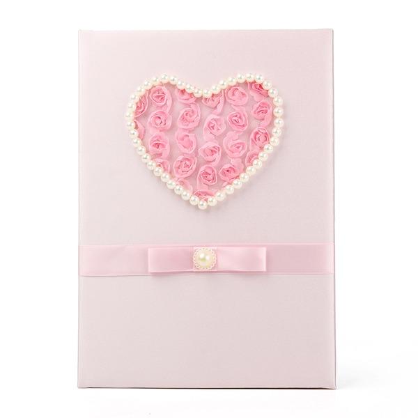 Flower/Heart Guestbook