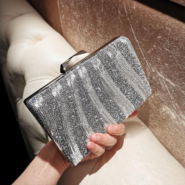 Elegant/Girly/Refined/Pretty Crystal/ Rhinestone Clutches/Evening Bags