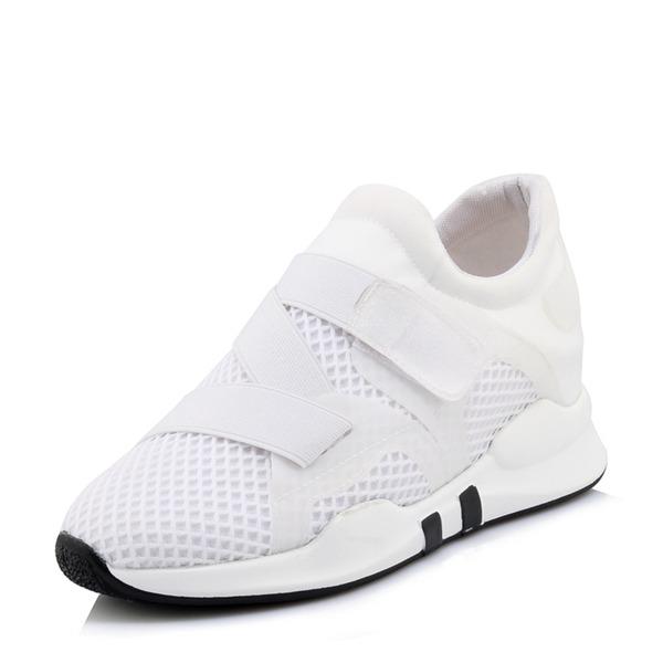 Frauen Netz mit Klettverschluss Sneaker & Sport