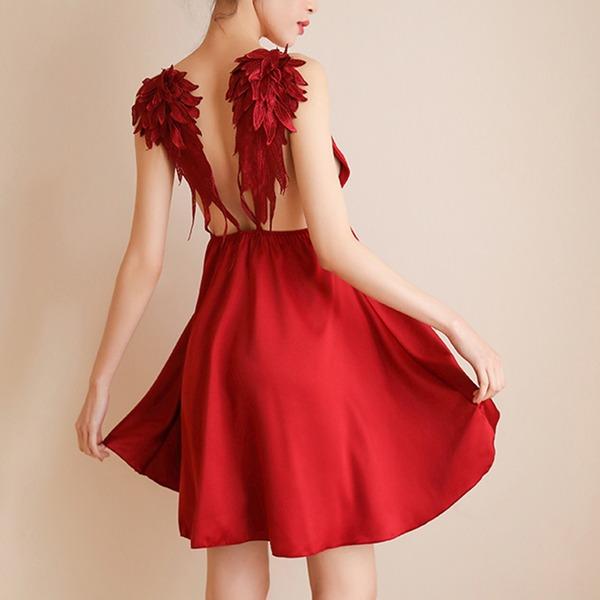 Polyester Style Classique Féminine Vêtements de nuit