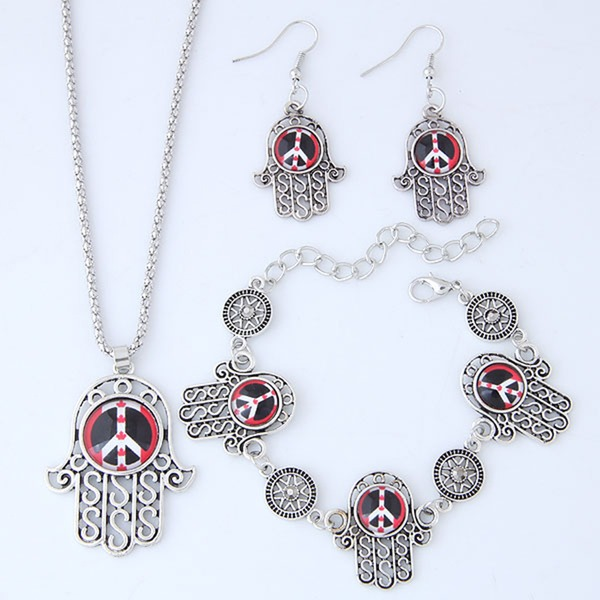 Fashional Alloy Resin Ladies' Jewelry Sets
