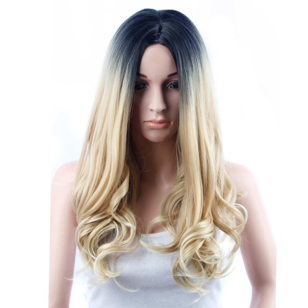 Body Wavy Long Synthetic Wigs