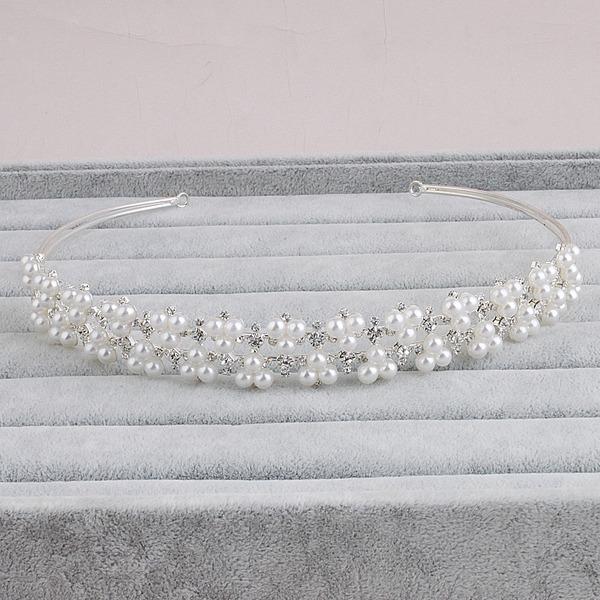 Damer Vakkert Rhinestone/Imitert Perle Tiaraer