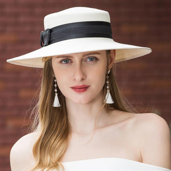 Ladies' Beautiful/Elegant Papyrus Straw Hats/Beach/Sun Hats