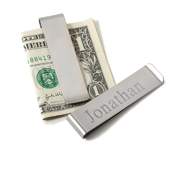 Personalized Simple Design Stainless Steel Money Clips