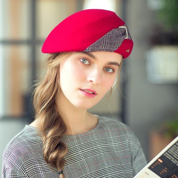 Ladies ' Elegant/Udsøgt/Vintage Uld Baret Hat