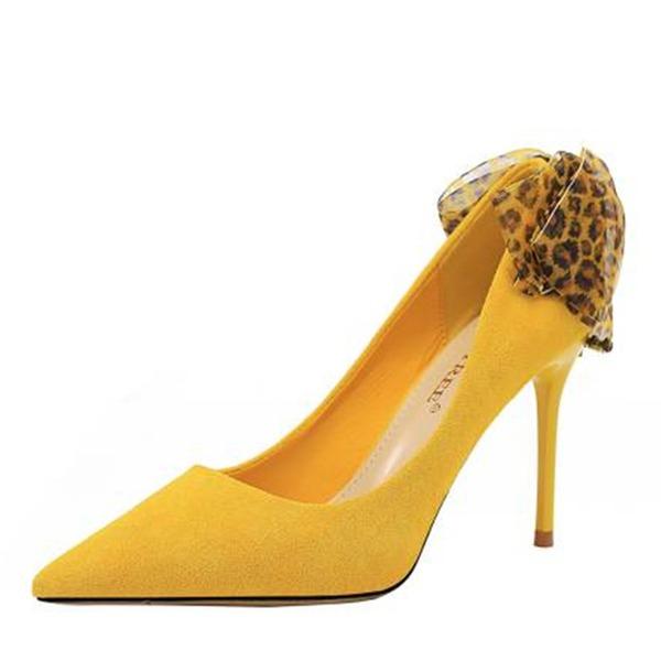 Женщины бархат Высокий тонкий каблук На каблуках с Лента обувь