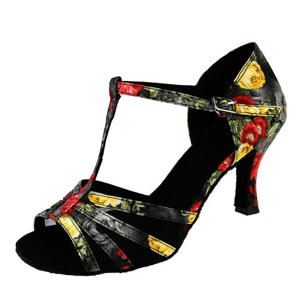 Mulheres Couro Latino Sapatos de dança