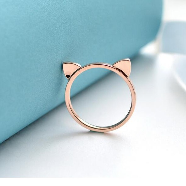 Unique Gold Plated Women's Fashion Rings