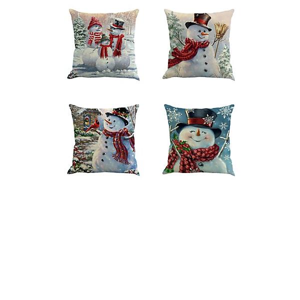 Traditionella / Classic Tecknad serie polyester obliečky na vankúše