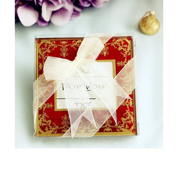 Imperial Exquisite Glass Photo Coasters (Set of 2)