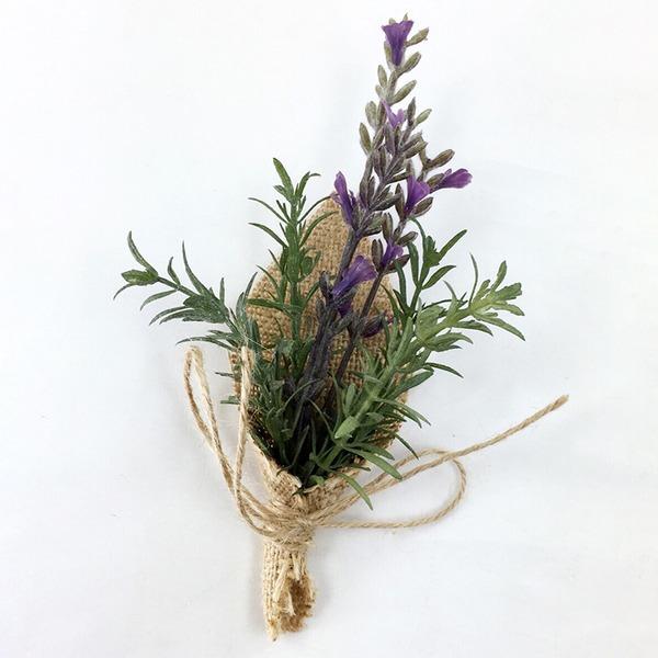 Rotondo Corda di tela Fiore all'occhiello (venduto in un unico pezzo) -