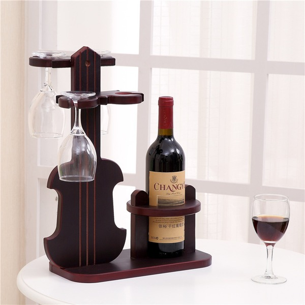 simple classic Wooden Wine Rack