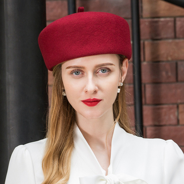 Ladies' Glamourous/Simple/Nice Wool Beret Hats
