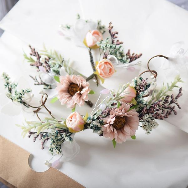 Дамы Специальный шелковые цветы заколки