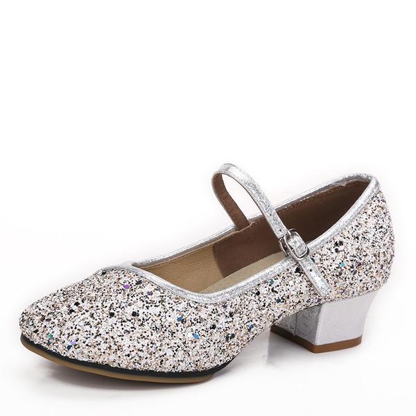 Donna Glitter scintillanti Tacchi Sala da ballo Scarpe da ballo