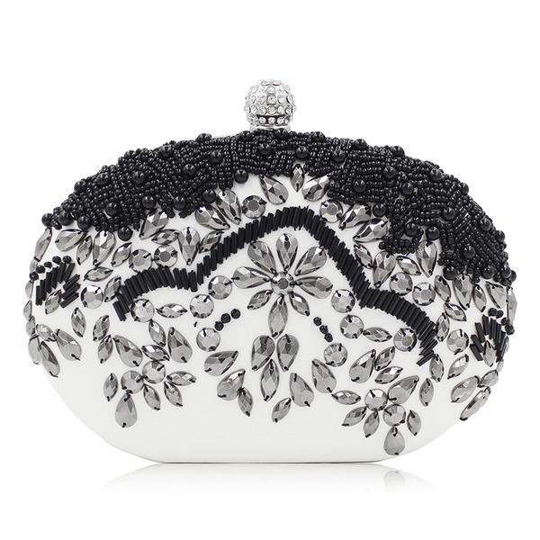 Elegant Kristall/Strass Totes väskor
