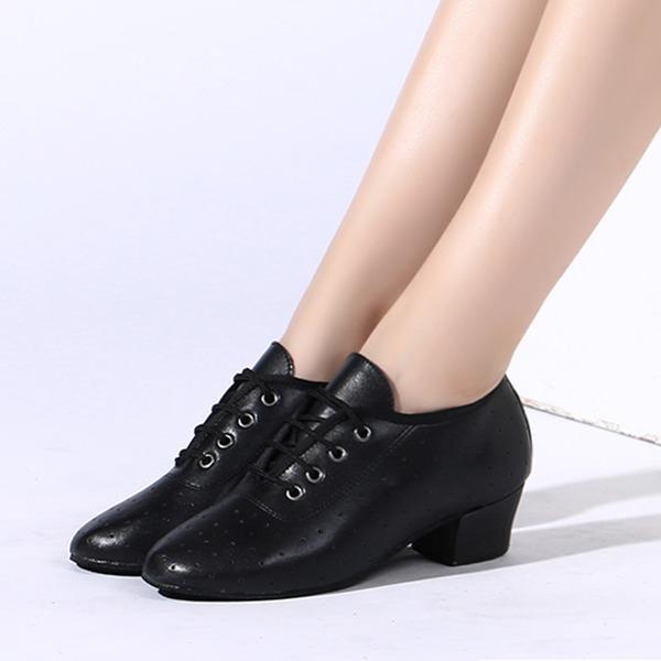 Women's Leatherette Heels Dance Shoes