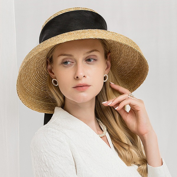 Ladies' Gorgeous/Fashion/Glamourous Raffia Straw Beach/Sun Hats