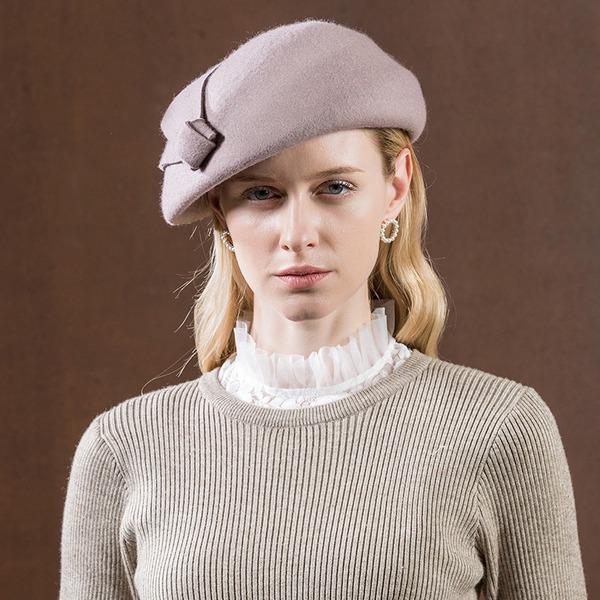 Ladies ' Efterspurgte/Glamourøse/Elegant/Forbløffende/Fancy/High Quality Uld Baret Hat