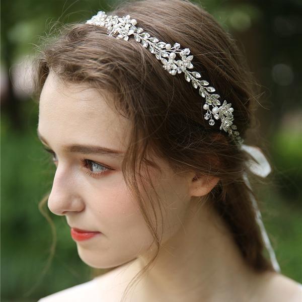 Abbigliamento donna Bella Cristallo/Strass/Di faux perla Fasce con Strass/Cristallo (Venduto in un unico pezzo)
