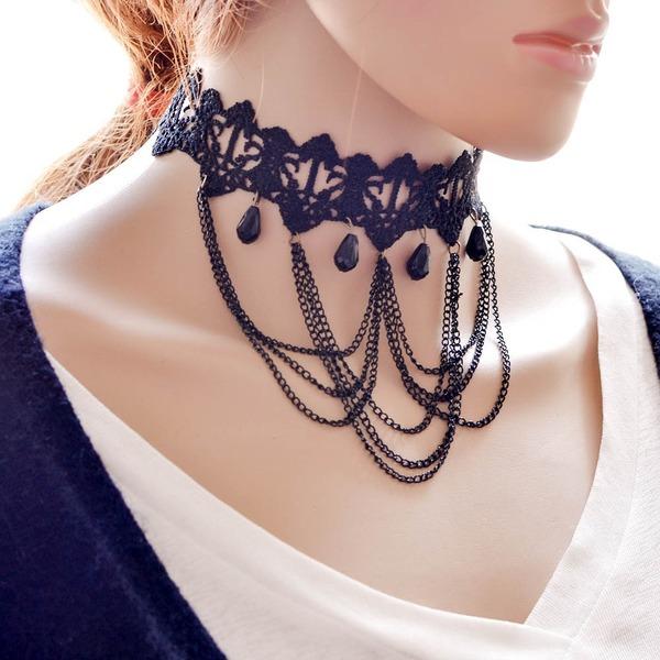 Mode Lace Damen Mode-Halskette