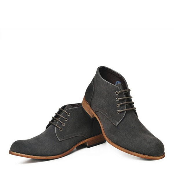 Men's Real Leather Chukka Casual Men's Oxfords