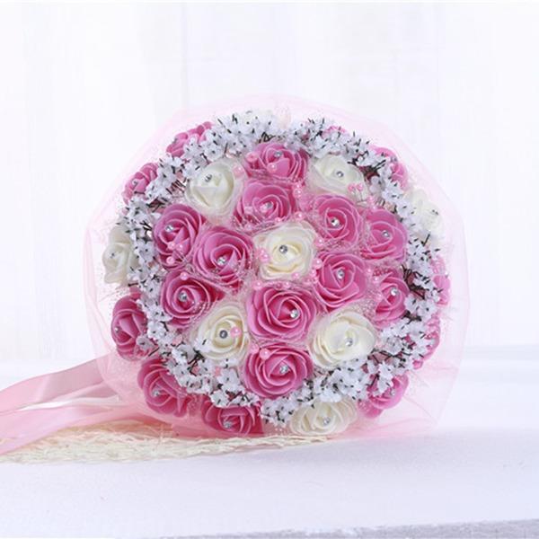 Круглый Атлас/ЧП Свадебные букеты (продается в виде одной детали) -