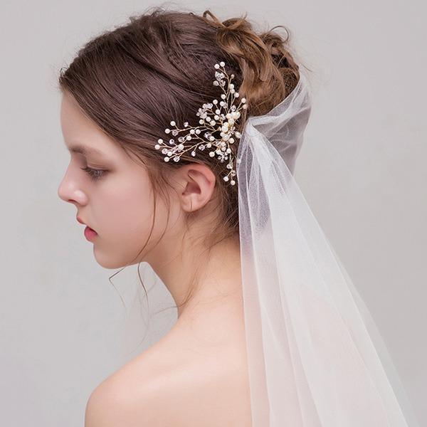 Filles Glamour Cristal/Strass/Alliage Des peignes et barrettes avec Strass/Cristal