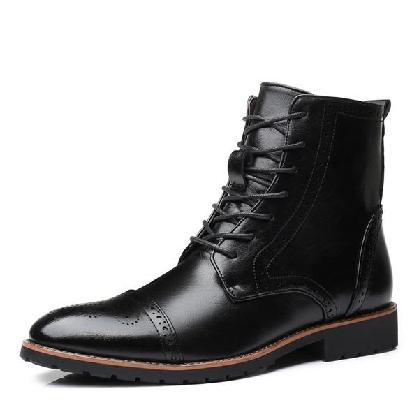 Hombres Chukka Botas de caballero