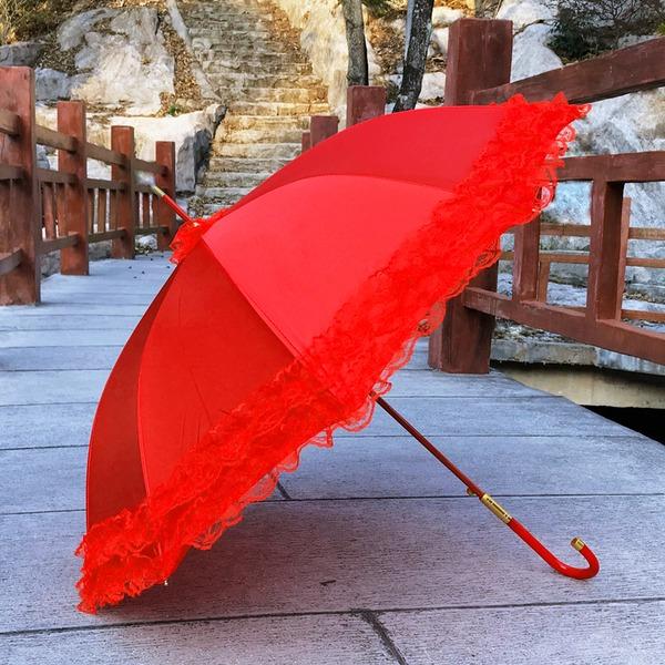Krajka/Satén Svatební Deštníky
