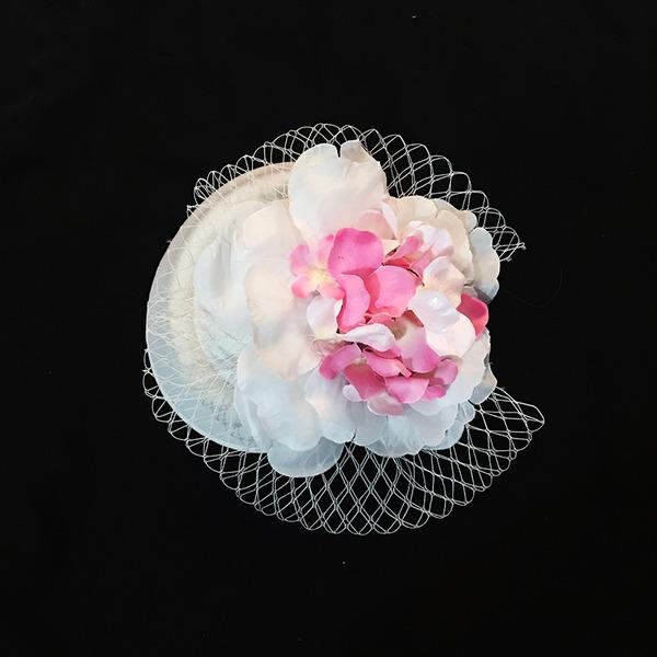 Abbigliamento donna Elegante Seta artificiale/Tyll Fiori & piume