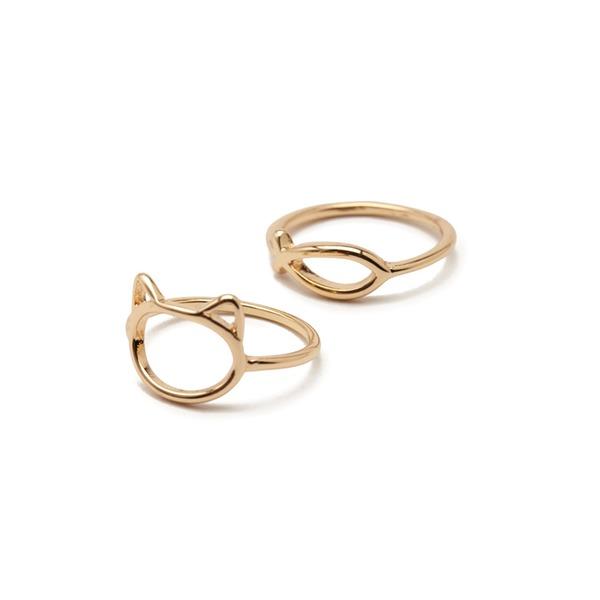 Unique Alloy Women's Fashion Rings