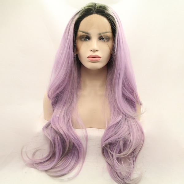 Body Wavy Synthetic Wigs Lace Front Wigs