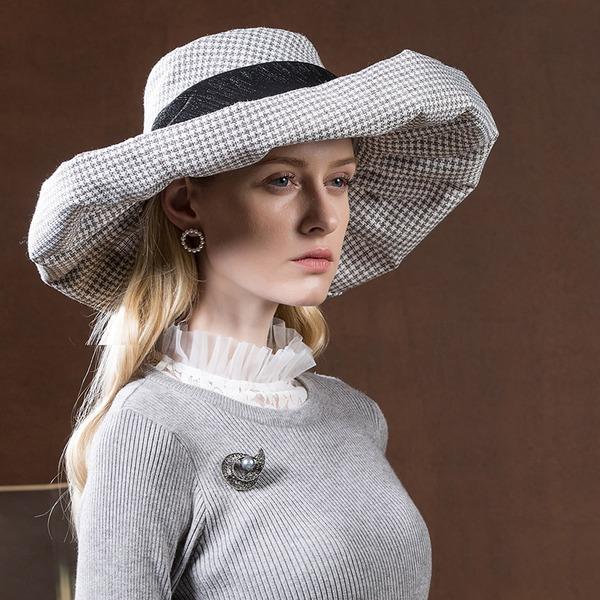 Dames Beau/Mode/Élégante/Gentil Polyester Disquettes Chapeau