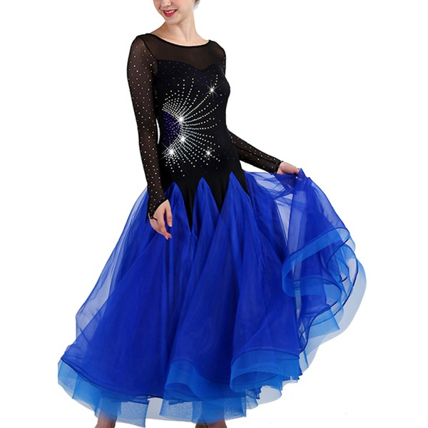 Women's Dancewear Spandex Organza Modern Dance Performance Dresses