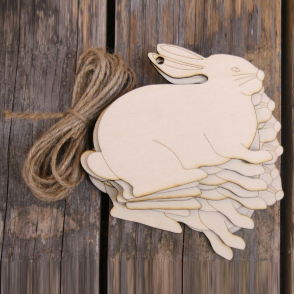 Simple/Classic/Nice Nice/Lovely/Pretty Wooden Wedding Ornaments (set of 10)