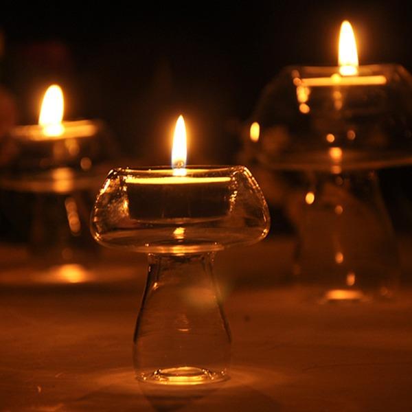 vintage stil Høyt borosilikatglass Hjemmedekorasjon (Selges i ett stykke)