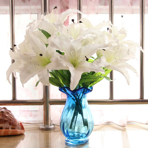 Vase Cloth/Plastic/Silk Flower Pretty Beautiful Table Centerpieces