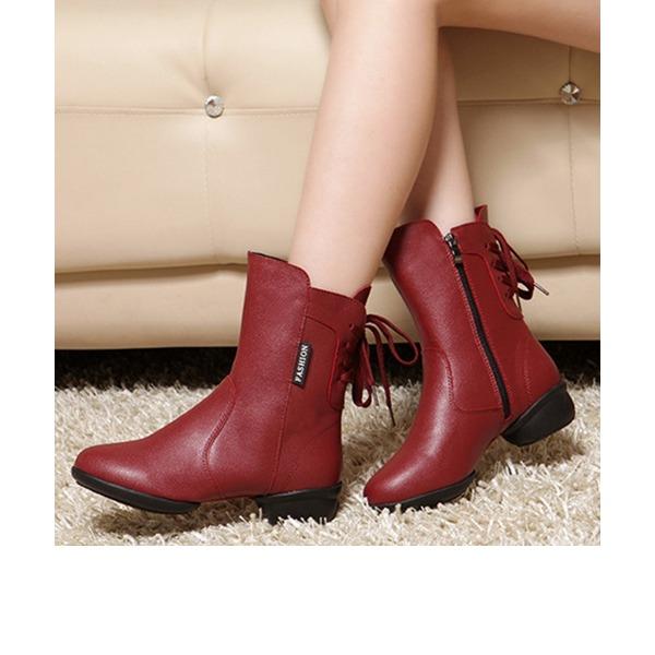 De mujer Piel Botas botas de danza Zapatos de danza