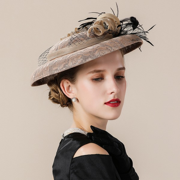 Ladies ' Smukke/Efterspurgte/Fancy Kambriske Fascinators