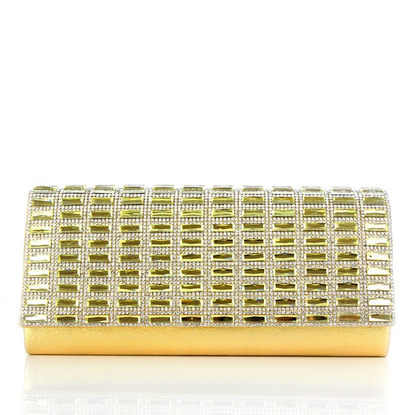 Élégante Cristal / Strass/Acrylique/PU Pochettes