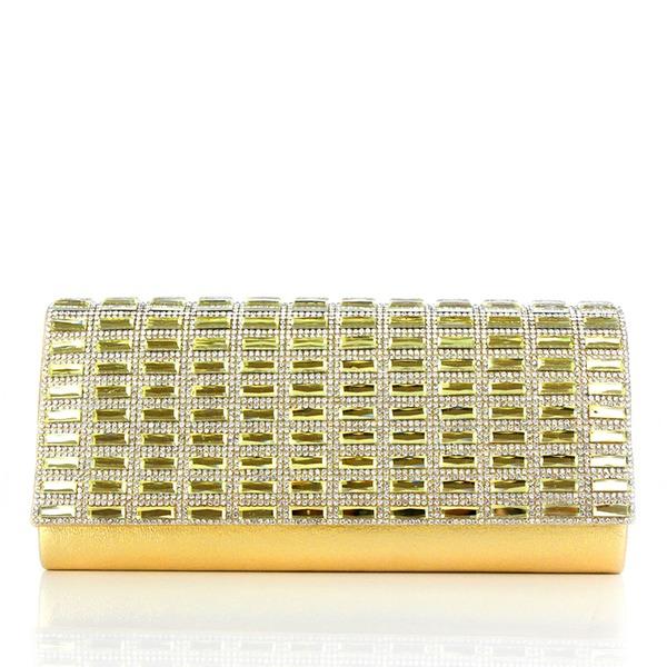 Elegant Kristall/Strass/Akryl/PU Grepp