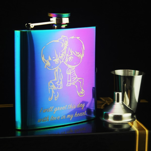 Flasks Classic Stainless Steel Beautiful Gifts