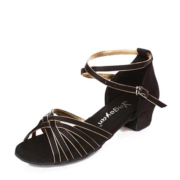 Femmes Similicuir Talons Latin avec Boucle Chaussures de danse