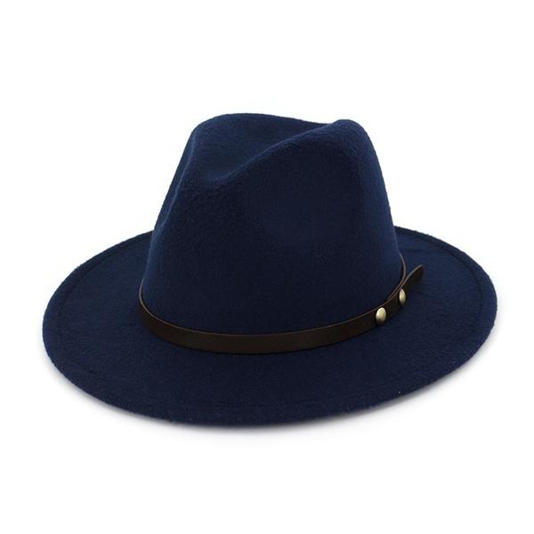 Unisex Atraente Feltro Chapéu Fedora
